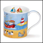 Bute - Waterfront - Lighthouse Mug
