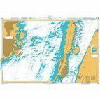 2843 Baltic Sea. Sweden - Kalmarsund  - Middle part Admiralty Chart