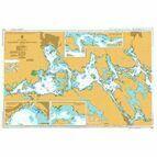 802 Sweden-East Coast, Malaren, Western Part Admiralty Chart