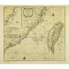 The Island of Formosa and Coast of China ARC 5466 Admiralty Collection Archive Chart