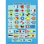 International Code Flags Cockpit Card