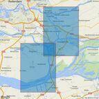 209 Netherlands, Krimpen a/d Lek to Moerdijk Admiralty Chart