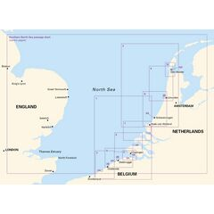 Imray 2120 North Sea – Nieuwpoort to Den Helder Chart Atlas