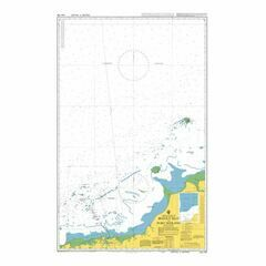 AUS739 Bedout Islet to Port Hedland Admiralty Chart