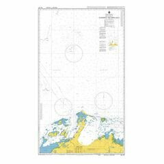 AUS741 Approaches to Dampier Archipelago Admiralty Chart