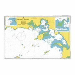 AUS120 Approaches to Thevenard Admiralty Chart