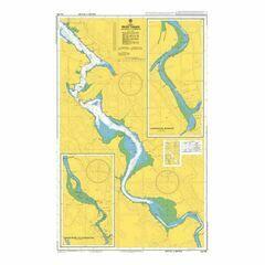 AUS168 Long Reach to Launceston Admiralty Chart