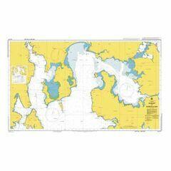 AUS171 Hobart to Norfolk Bay Admiralty Chart