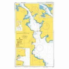 AUS172 Port of Hobart Admiralty Chart