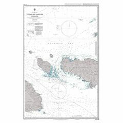 AUS386 Vitiaz and Dampier Straits Admiralty Chart