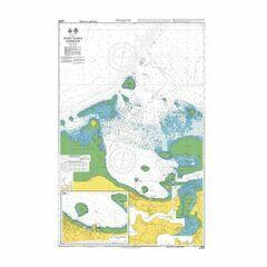 NZ8275 Nuku'Alofa Harbour Admiralty Chart
