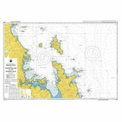 NZ53 Bream Head to Slipper Island including Hauraki Gulf Admiralty Chart