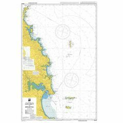 NZ521 Cape Brett to Bream Tail Admiralty Chart