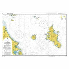 NZ522 Bream Tail to Kawau Island-Great Barrier Island Admiralty Chart