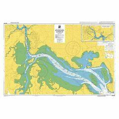 NZ5215 Whangarei Harbour Admiralty Chart