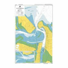 NZ5412 Port of Tauranga Admiralty Chart
