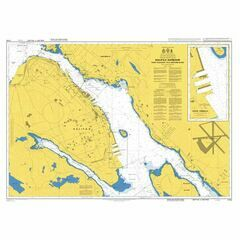 4754 Halifax Harbour, Point Pleasant to Bedford Basin Admiralty Chart
