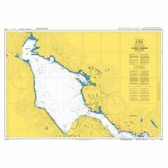 4755 Halifax Harbour, Bedford Basin Admiralty Chart