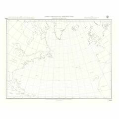 5095 North Atlantic Ocean Gnomonic Admiralty Chart