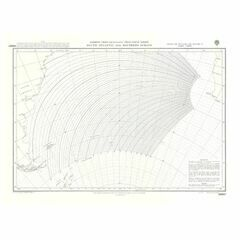 5096a South Atlantic & Southern Oceans Admiralty Chart