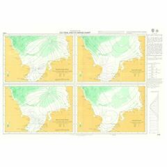 5059 Co-tidal and Co-range Chart - Southern North Sea Admiralty Chart