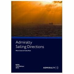Admiralty Sailing Directions NP38 West Coast of India Pilot