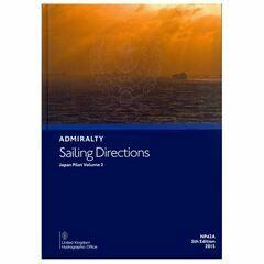 Admiralty Sailing Directions NP42A Japan Pilot Vol.2