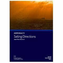 Admiralty Sailing Directions NP42B Japan Pilot Vol.3