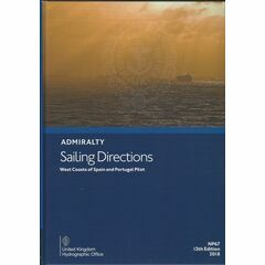 Admiralty Sailing Directions NP67  West Coasts of Spain & Portugal Pilot