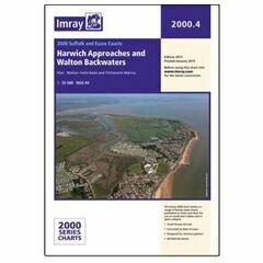 Imray Chart 2000.4 Harwich Approaches and Walton Backwaters
