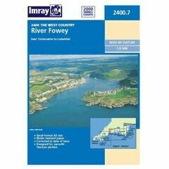 Imray Chart 2400.7 River Fowey to Lostwithiel