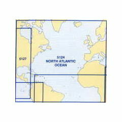5124 (10) October- North Atlantic Admiralty Chart