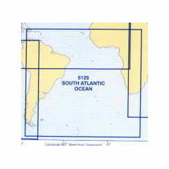 5125 (8) August - South Atlantic Admiralty Chart