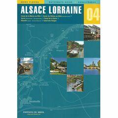 Imray Editions Du Breil No.4 Alsace / Lorraine Waterway Guide