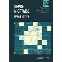 Imray Editions Du Breil No. 14 Sevre Niortaise13 Oise Waterway Guide