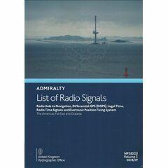 NP282 Admiralty List of Radio Signals. Vol. 2.