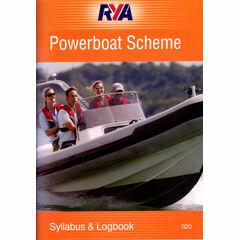 RYA G20 Powerboat Scheme Syllabus & Logbook