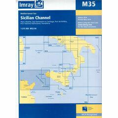 Imray Chart M35 Sicillian Channel