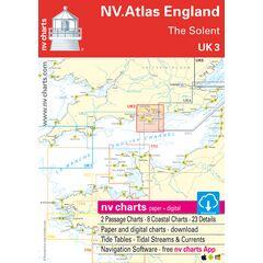 UK3 - The Solent Chart Atlas