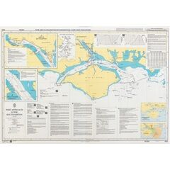 8176 Port Approach Guide, Singapore, Sinki Fairway to Southern Fairway Admiralty Chart