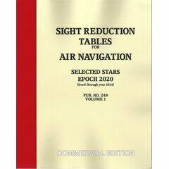 Sight Reduction Tables Epoch 2020