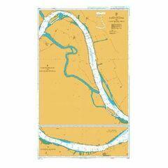1620 Jiangyin Gang to Luocheng Zhou Admiralty Chart