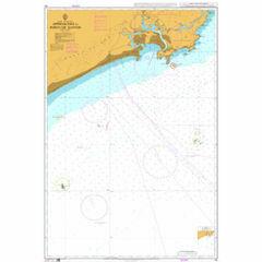 191 Approaches to Porto de Santos Admiralty Chart