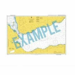 2936 Pulau Buru to Pulau Mandioli Admiralty Chart