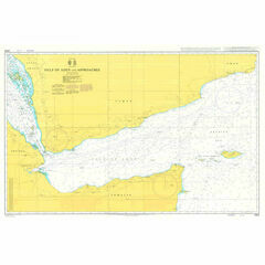 2964 Gulf of Aden and Approaches Admiralty Chart