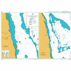 3493 Bashayer Oil Terminals and Approaches Admiralty Chart