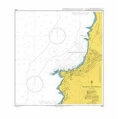 4224 Puerto Tocopilla Admiralty Chart