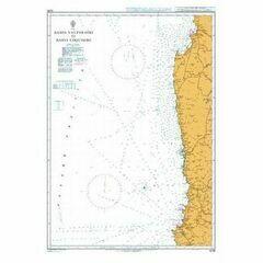 4235 Bahia Valparaiso to Bahia Coquimbo Admiralty Chart