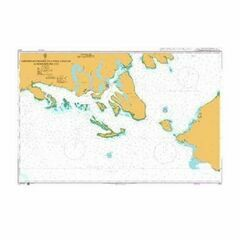 4272 Eastern Entrance to Canal Chacao to Seno Reloncavi Admiralty Chart