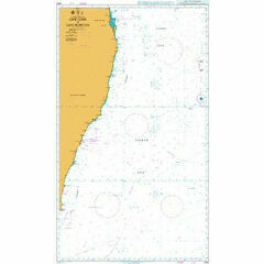 4643 Cape Howe to Cape Moreton Admiralty Chart